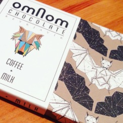 Coffee and Milk Chocolate - OmNom Chocolates, Reykjavik, Iceland